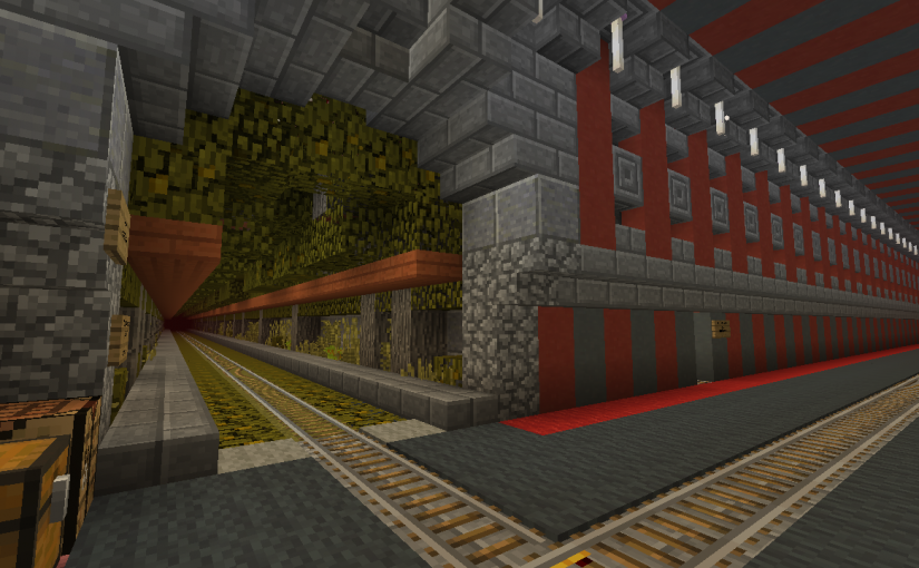 New Lusitania: Nether Hallway Branch